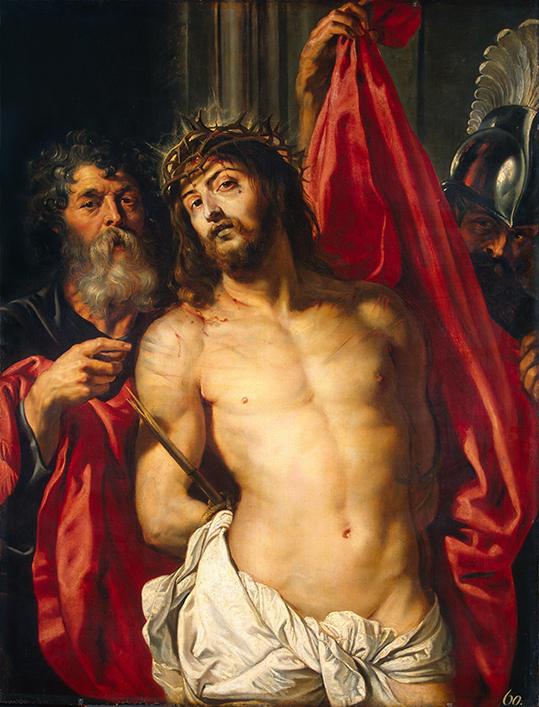 Chrystus w koronie cierniowej - Rubens - wf1689