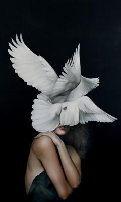 Kobieta Ptak - wf1289