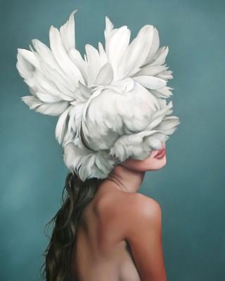 Kobieta Kwiat  - wf1329
