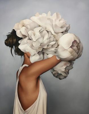 Kobieta Kwiat  - wf1357