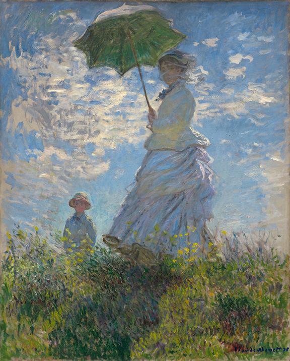 Kobieta z Parasolką - C. Monet - wf1736