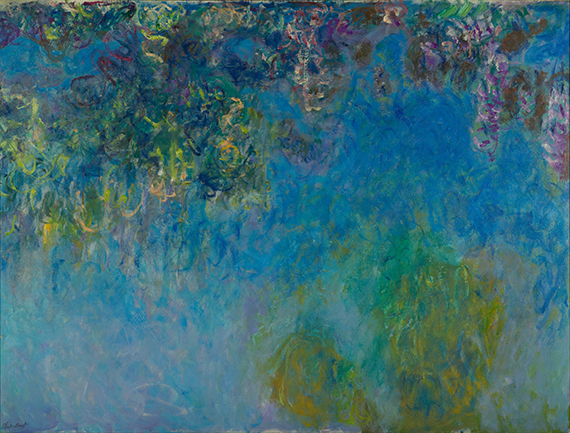 Wisteria - C. Monet - wf1737