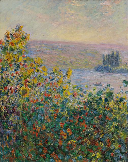 Klomby w Vétheuil - C. Monet - wf1734