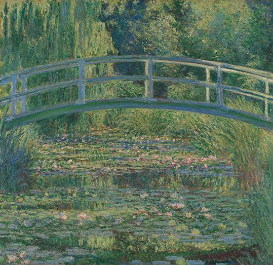 Staw Lilii Wodnych - C. Monet - wf1742