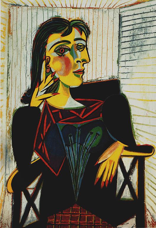 Portrait of Donna Maar - wf1704