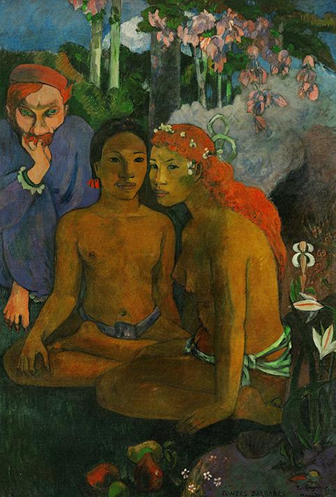 Paul Gauguin - Contes barbares - wf1784