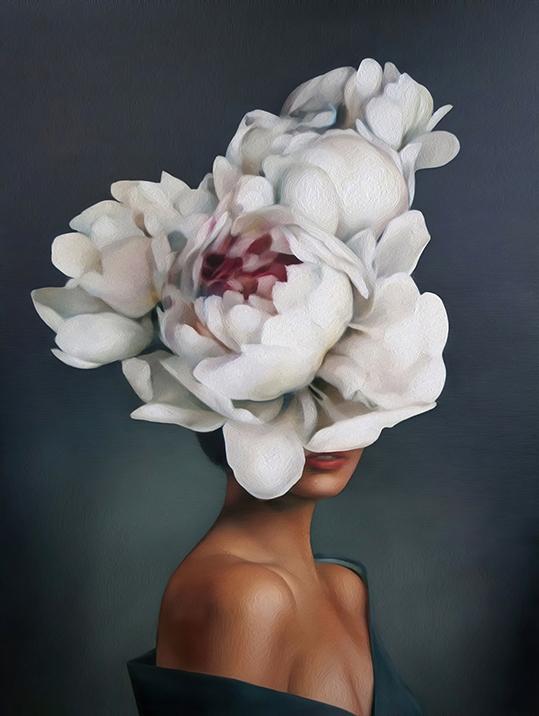 Kobieta Kwiat  - wf1664