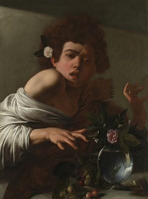 Chłopiec ugryziony przez jaszczurkę, Caravaggio - wf1266