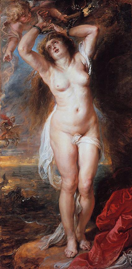 Andromeda - Rubens - wf1684