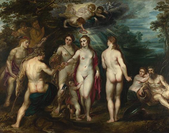 Sąd Parysa - Rubens - wf1687
