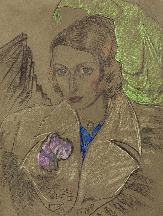 Portret Janiny Turowskiej - Leszczyńskiej  - wf1730