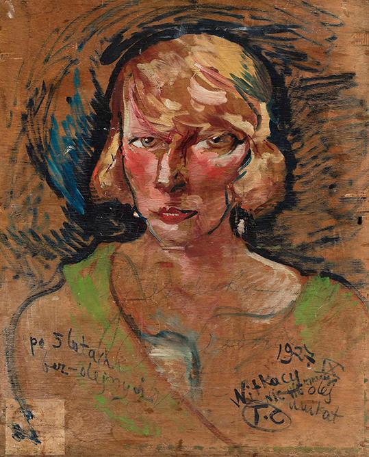 Portret Marii Stawarskiej Golińskiej - wf1727