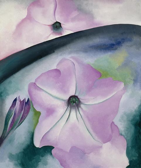 Petunia - Georgia O'Keeffe - wf1607