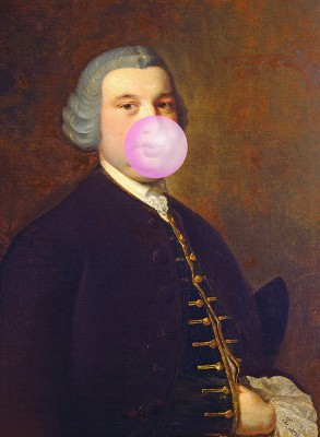 Giuliano with bubble gum - wf1386