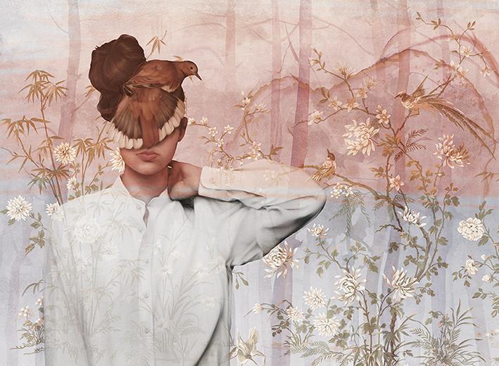 Dziewczyna z Ptakiem  - wf1526