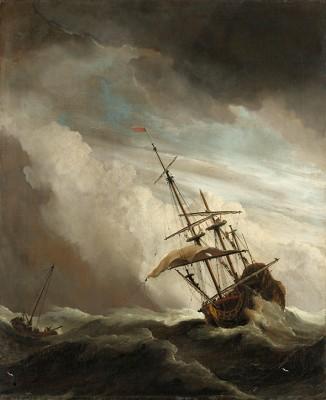 """""""The Gust"""", Willem van de Velde - wf1286"""