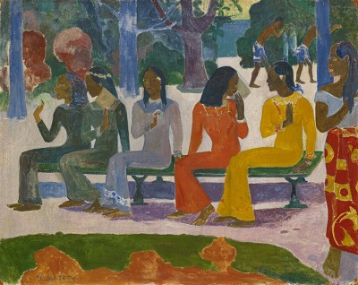 Paul Gauguin - Ta Matete - wf1070