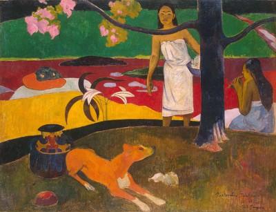 Paul Gauguin - Tahitańskie Pasterki - wf1065