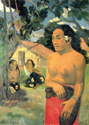 Paul Gauguin - E Haere Oe I Hia - wf1080