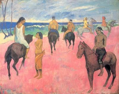 Paul Gauguin - Plaża - wf1066