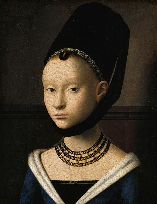 """Petrus Christus. """"Portret młodej dziewczyny"""" - wf1665"""