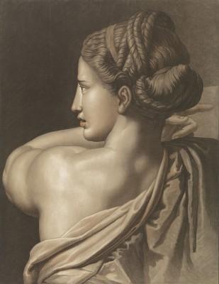 Kobieta Widziana z Tyłu, François Métoyena - wf477