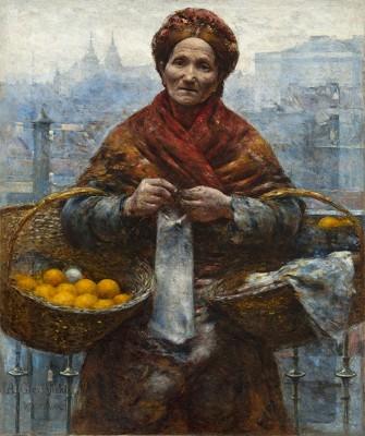 Pomarańczarka, A. Gierymski  - wf1103