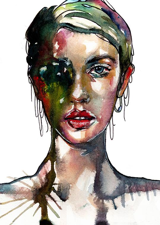 Portret Kobiety  - wf1794