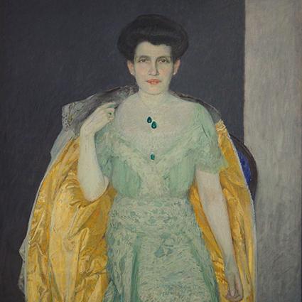 Portret Therese Bloch-Bauer - Max Kurzweil  - wf1447