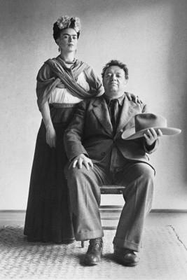 Frida Kahlo i Diego Rivera  - wf703