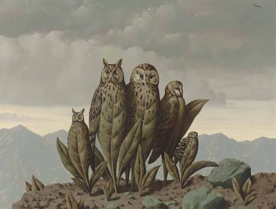 René Magritte - Towarzysze strachu  - wf1180