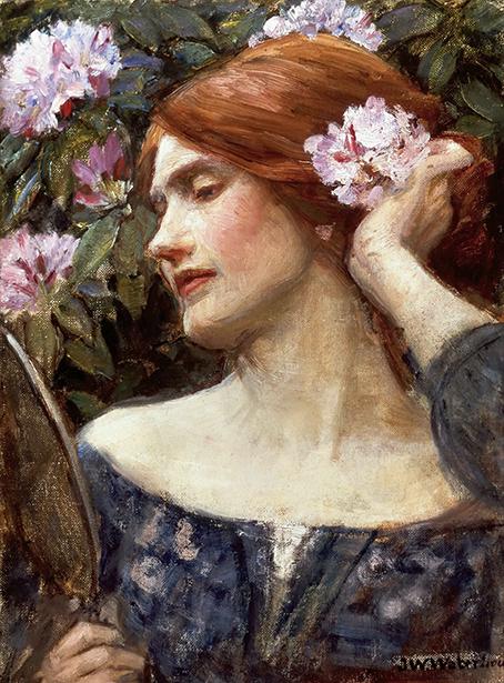 Vanity - W. Waterhouse - wf1566