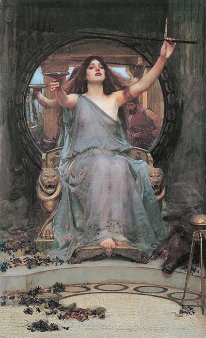 Circe podająca puchar Ulissesowi - Waterhouse - wf1567