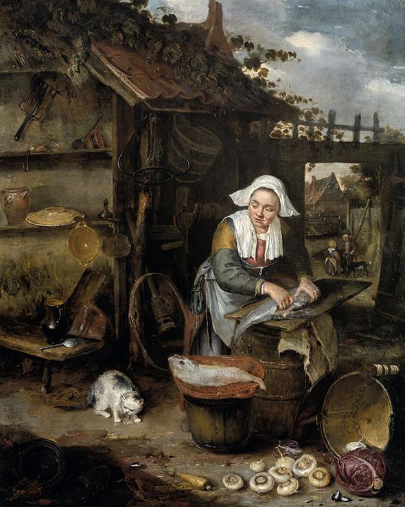 Gospodyni na Dziedzińcu - Hendrik Potuyl - wf1285