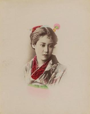 Portret Japonki - wf955