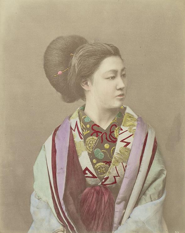 Japońska Kobieta - wf958