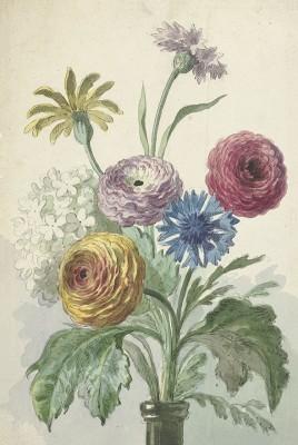 Bukiet Kwiatów, Willem van Leen, c. 1763 - wf1006