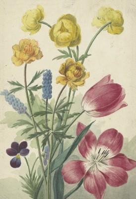 Bukiet Kwiatów, Willem van Leen, 1763 - 1825 - wf1007
