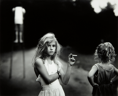 Sally Mann, Candy Cigarette - wf821