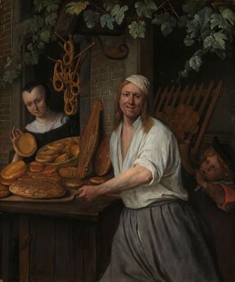 Piekarz z Żoną - wf1018