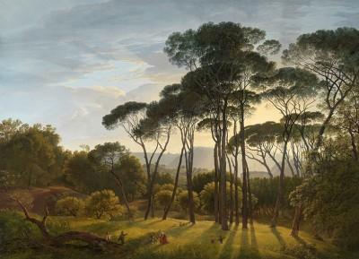 Włoski Krajobraz, Hendrik Voogd, 1807R. - wf931