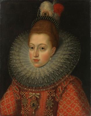 Małgorzata, małżonka Filipa III, Frans Pourbus - wf1314