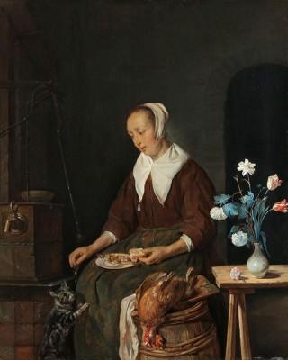 Kobieta Przy Posiłku  - wf946