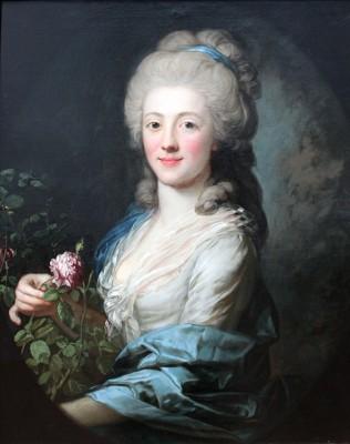 Kobieta z kwiatami - wf517