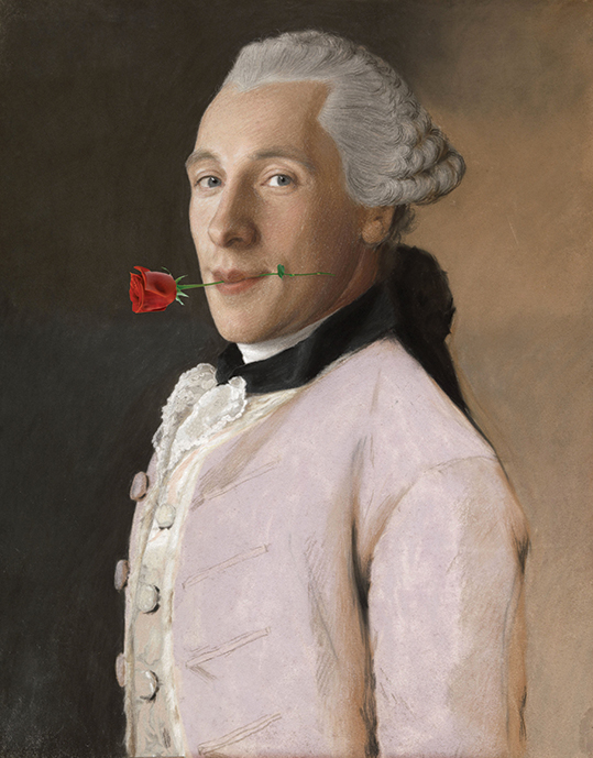 The man with the rose - wf1811
