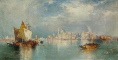 Wenecja - Thomas Moran - wf1086