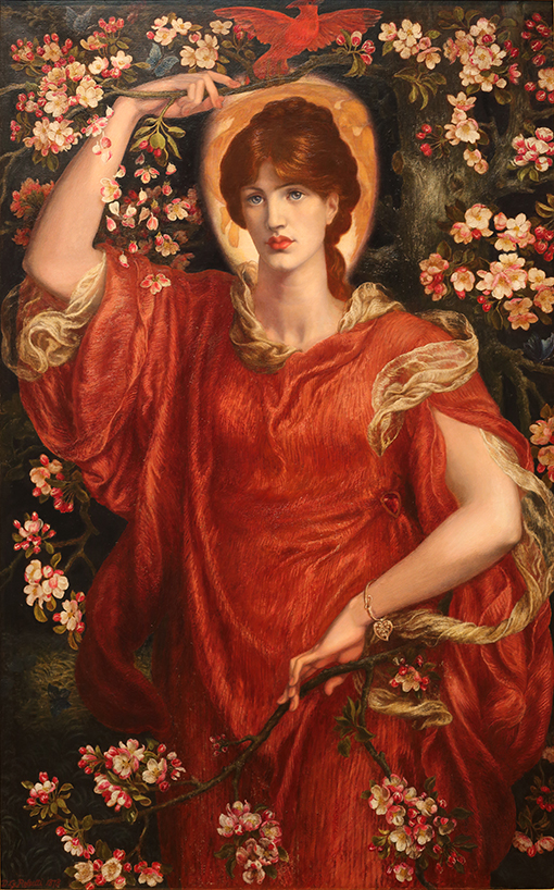 Wizja Fiammetty - D.G. Rossetti - wf1456