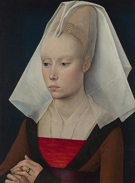 Portret Damy - R. van der Weyden - wf1659