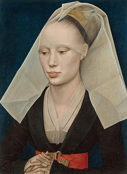 Portret of a Lady - R. van der Weyden - wf1658
