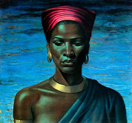 Zulu Girl - Vladimir Tretchikoff - wf1806